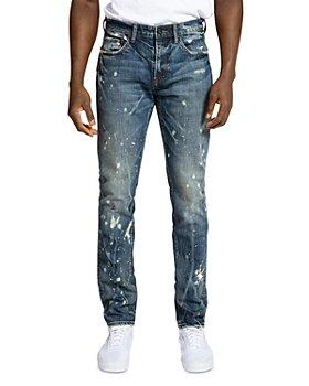 PRPS - Jarales Distressed Skinny Jeans, in Dark Blue