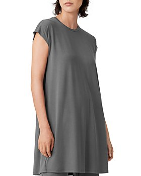 Eileen Fisher - Crewneck Boxy Dress
