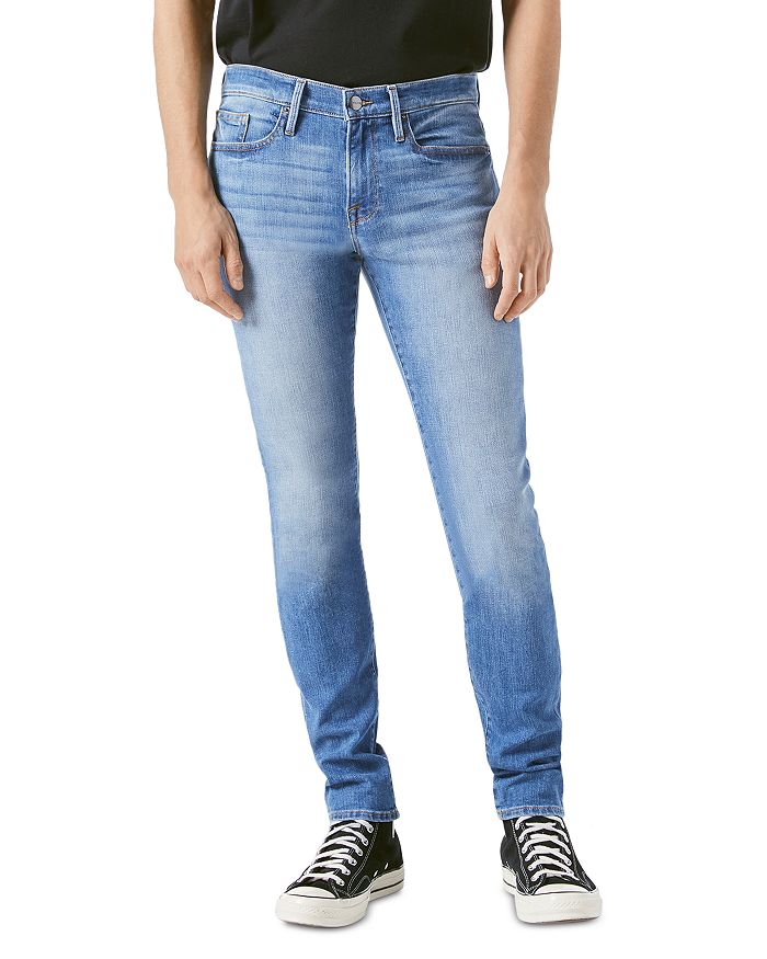 FRAME - L'Homme Skinny Fit Jeans in Heistand