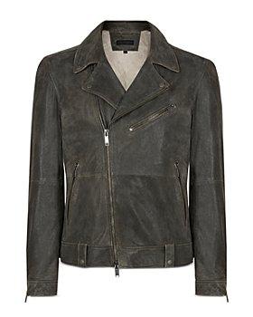 John Varvatos Star USA - Franco Leather Slim Fit Biker Jacket