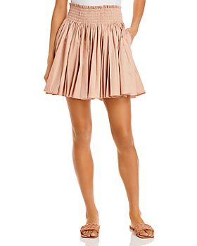 Rebecca Taylor - Smocked Ruched Skirt