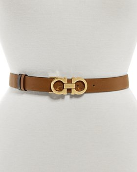 Salvatore Ferragamo - Women's Double Gancini Leather Belt