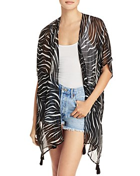 Echo - Zebra Duster Cover Up