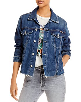 MOTHER - The Cut Drifter Denim Jacket in Born To Bite