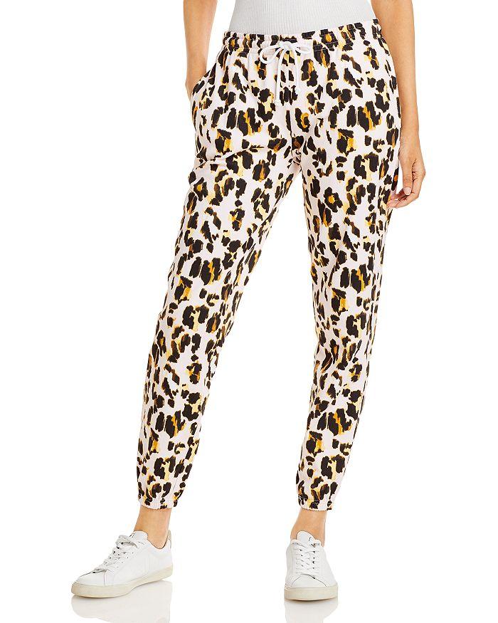 AQUA - Leopard Print Sweatpants - 100% Exclusive