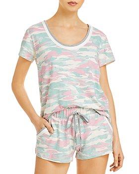 Splendid - Camouflage Shorts Pajama Set