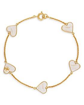 Tory Burch - Stone Heart Bracelet