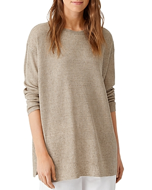 Eileen Fisher RIBBED DELAVE TUNIC