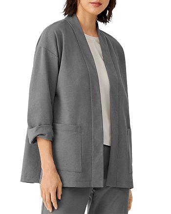 Eileen Fisher Petites - Open Front Jacket