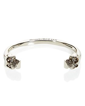 Alexander McQUEEN - Large Twin Skull Cuff Bracelet