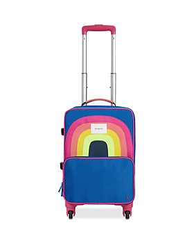 STATE - Mini Logan Airplane Print Carry-On Suitcase