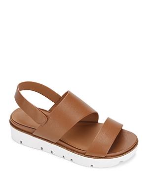 Women's Lavern Asymmetrical Leather Slingback Sandals