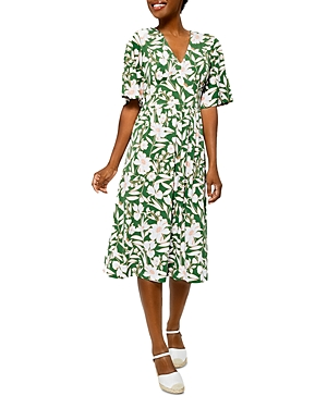 Zoe Printed Dress