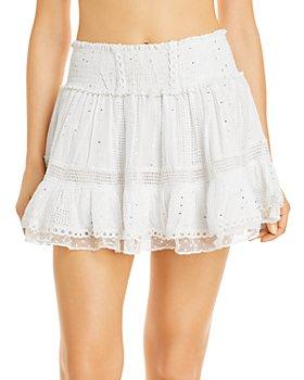 Surf Gypsy - Embellished Skirt Swim Cover-Up