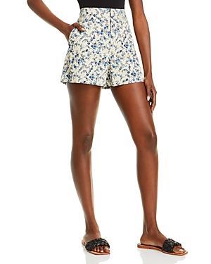 Cady Floral Print Shorts