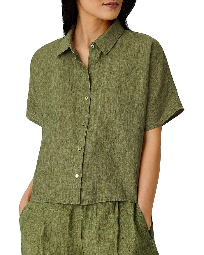 Eileen Fisher - Boxy Linen Shirt