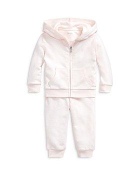 Ralph Lauren - Girls' French Terry Hoodie & Jogger Pants Set - Baby