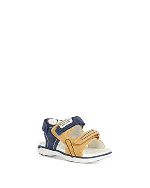 Geox Boys' B Delhi Touch Strap Sandals - Walker, Toddler
