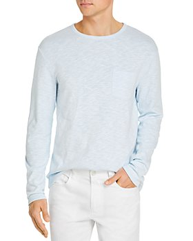 Vince - Sunfaded Long Sleeve Slim Fit Pocket Tee