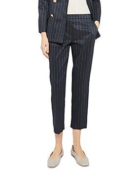 Theory - Treeca Pinstripe Pants