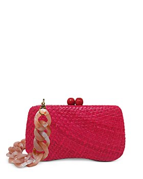 SERPUI - Bella Wicker Clutch