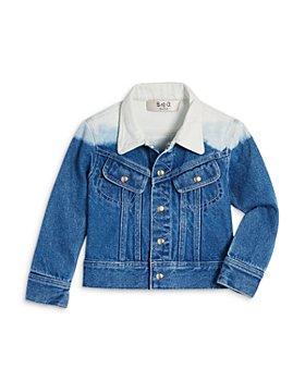 Sea - Girls' Dip Dyed Jacket - Little Kid