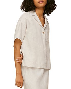 Whistles - Karla Linen Camp Shirt