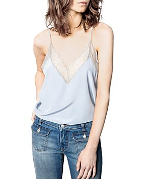 Zadig & Voltaire - Christy Lace Trimmed Silk Camisole