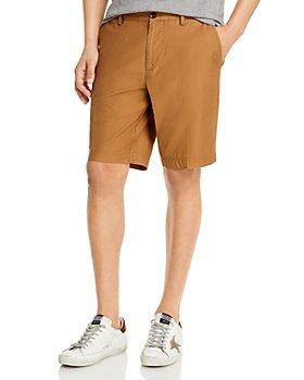 BOSS - Slice Cotton Stretch Textured Regular Fit Shorts