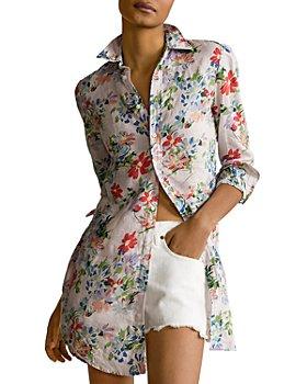 Ralph Lauren - Floral Linen Tunic Shirt