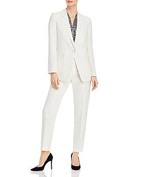 BOSS - Jocalua Jacket, Emilyne Sleeveless Top & Tiluna Ponté-Knit Trousers