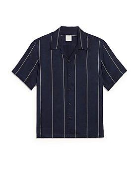 Sandro - Pinstriped Short Sleeve Shirt