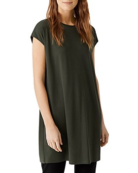 Eileen Fisher - Crewneck Boxy Dress