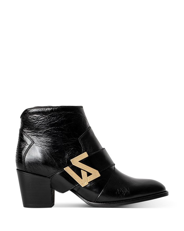 Zadig & Voltaire WOMEN'S MOLLY ZV INITIALE ANKLE BOOTS