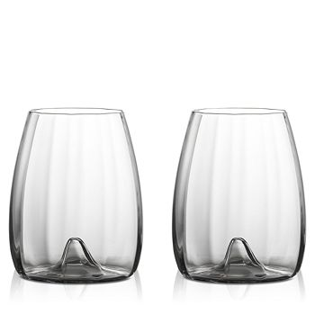 Waterford - Elegance Optic Stemless Wine Glass, Set of 2