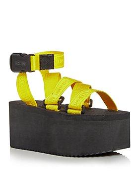 Moschino - Women's Cross Strap Sandals