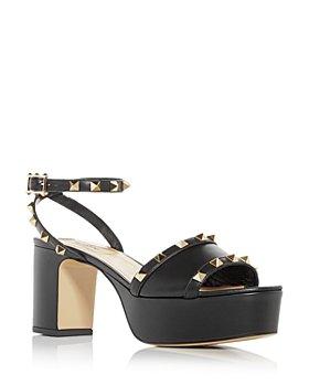 Valentino Garavani - Women's Rockstud Ankle Strap Platform Sandals
