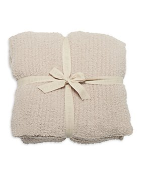 BAREFOOT DREAMS - CozyChic Ribbed Cuddle Blanket, Full/Queen