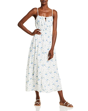 Jasmina Floral Midi Dress