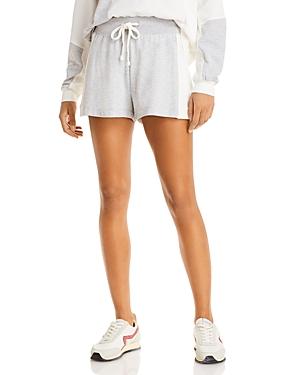 Cerise Heathered Lounge Shorts