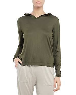 Theory EASY HOODED TOP