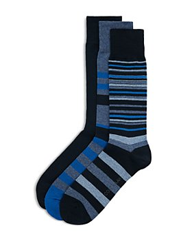 Cole Haan - Striped Dress Socks, Pack of 3