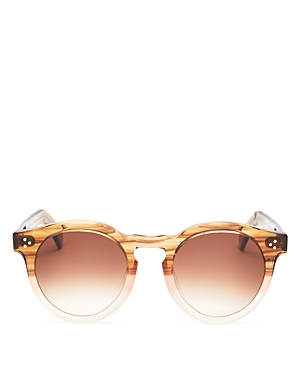 Illesteva Unisex Round Sunglasses, 50mm