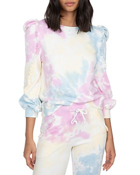Generation Love - Heidi Ruffled Tie Dyed Sweatshirt
