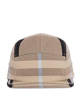 Burberry - Check Cotton Canvas Jacquard Cap