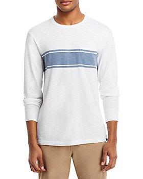 Faherty - Surf Striped Long Sleeve Tee