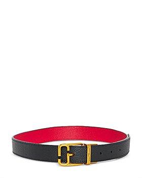 MARC JACOBS - Women's Reversible Leather Belt