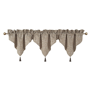 Waterford Spencer Mocha Ascot Valance Set of 3