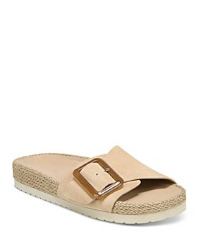 Vince - Women's Grant Espadrille Slide Jute Sandals