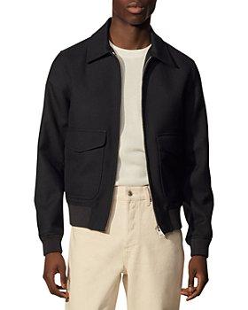 Sandro - Slim-Fit Aviator Jacket